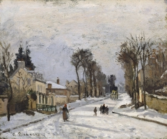 Road to Versailles at Louveciennes