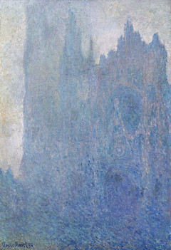 Rouen Cathedral, Fog