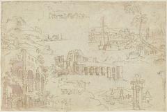 Ruïnes en fantasielandschappen