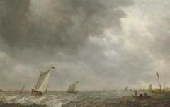 Sailing Boats on a Lake