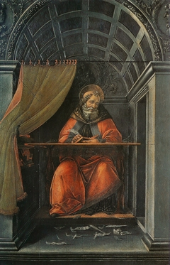 Saint Augustine in His Cell