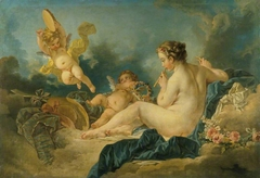 Seated Nymph with Flutes