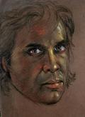 Self Portrait in Pastel