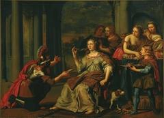 Semiramis receives word of the uprising in Babylon