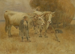 Sketch for The Harvesters