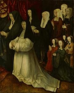 Stichtersportretten familie Korsgen Elbertzen - van der Schelling (rechterdeel)