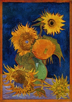 Six Sunflowers