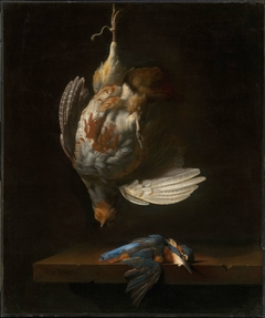 Still Life with Dead Partridge and Kingfisher