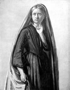 Studie af en ung kvinde (Oline Købke)