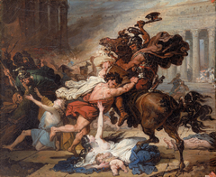 Study for Destruction of Jerusalem by the Romans