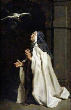 Teresa of Avilà's Vision of the Dove
