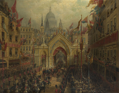 'Thanksgiving Day': The Procession to St Paul's Cathedral, 27 February 1872