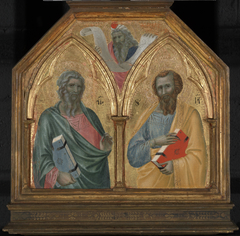 The Apostles Saint Andrew and Saint James the Lesser, with a Prophet