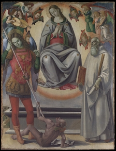 The Assumption of the Virgin with Saints Michael and Benedict
