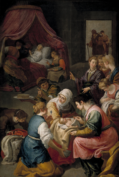 The Birth of the Virgin