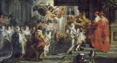 The Coronation of Marie de' Medici in Saint-Denis