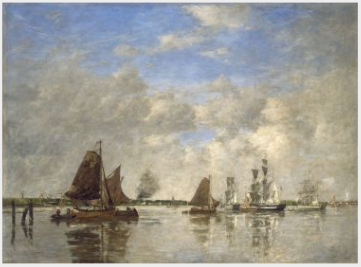 The Meuse at Dordrecht