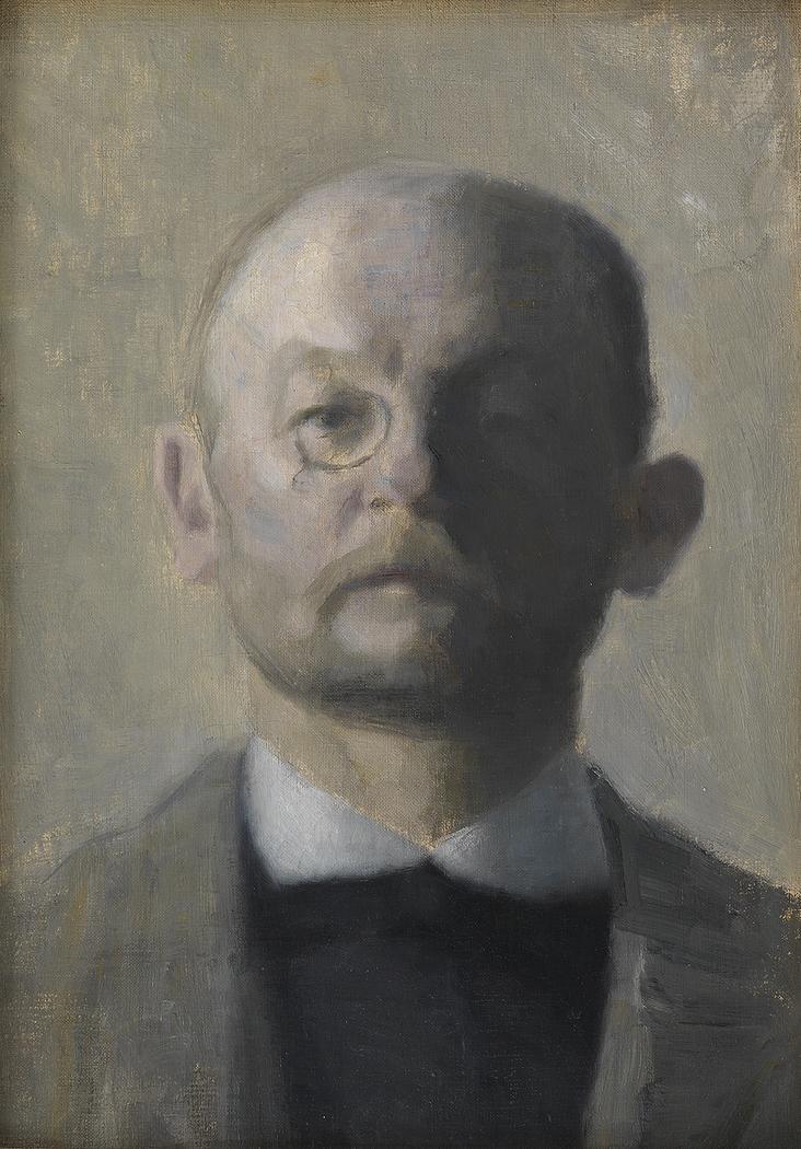 The Painter Kristian Zahrtmann