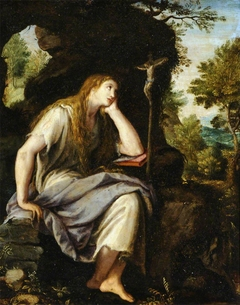 The Penitent Magdalen in the Wilderness