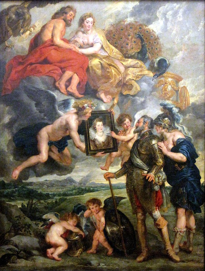 The Presentation of Marie de' Medici's Portrait to Henry IV