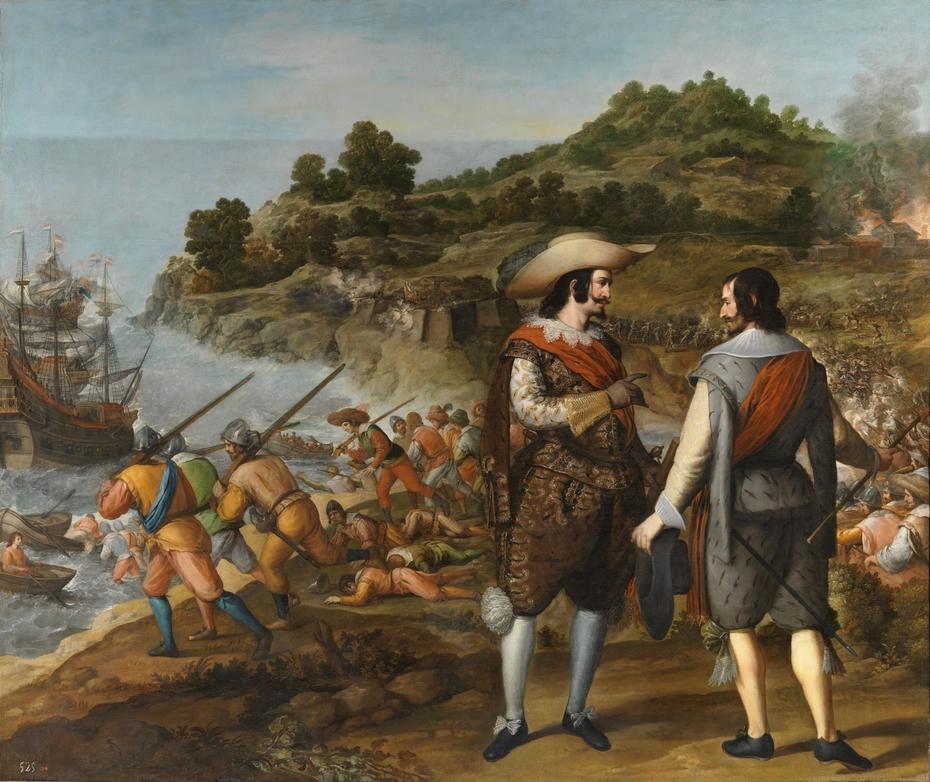 The Recapture of San Juan in Puerto Rico