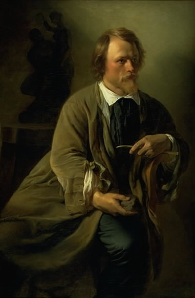 The Sculptor Jens Adolf Jerichau, the Artist's Husband