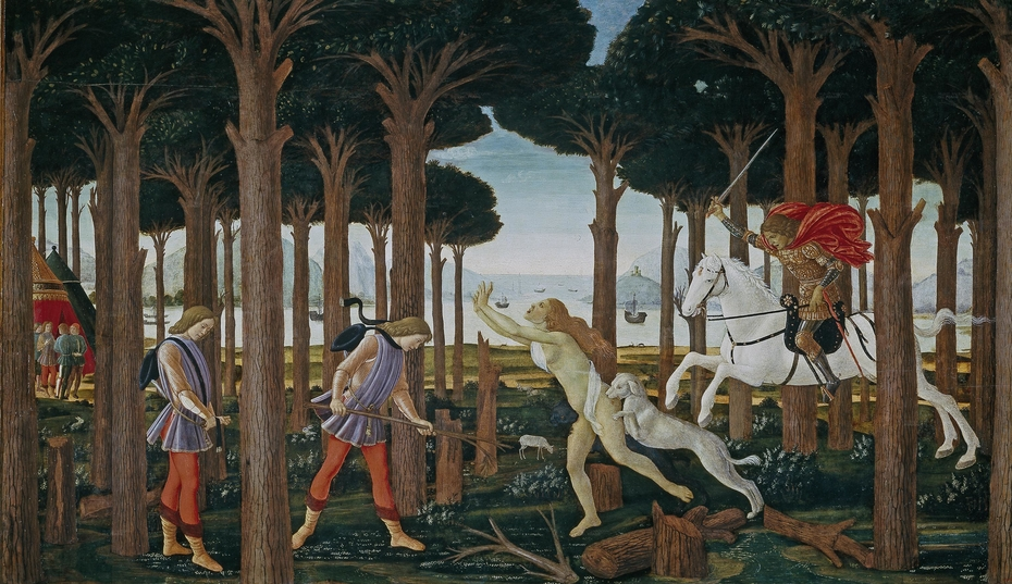 The Story of Nastagio Degli Onesti, part one