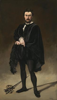 The Tragic Actor (Rouvière as Hamlet)