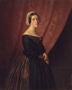 Thora Hunæus, f. Garbrecht, kunstnerens hustru