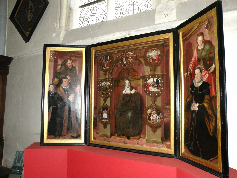 Triptych Maria of the Seven Sorrows