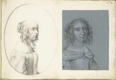 Twee portretten van vrouwen