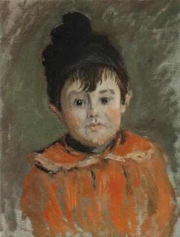 Michel Monet with a Pompon