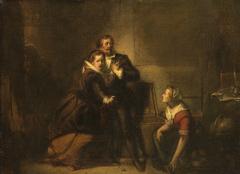 Hugo Grotius Ontsnapt in een Boekenkist uit Slot Loevenstein