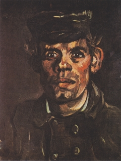 Head of a young peasant with a cap