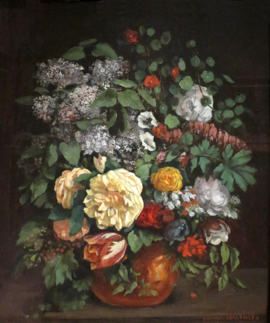 Vase of Lilacs, Roses, and Tulips