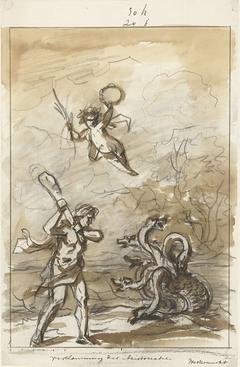 Vernietiging der Aristocratie, decoratie op de Westermarkt, 1795