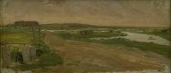 Vestjysk landskab. Holmsland