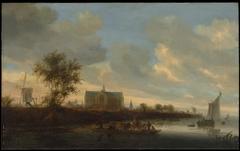 View of the Town of Alkmaar