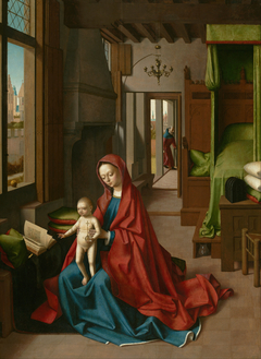 Virgin and Child in a Domestic Interior