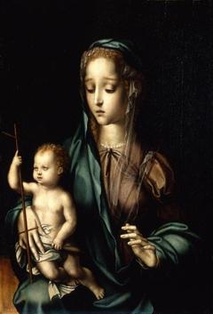 Virgin with the Yarn Winder