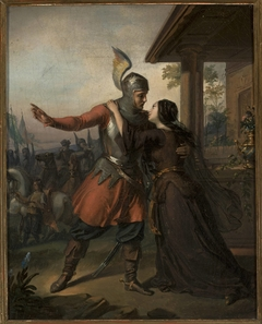 Wacław's farewell to Maria