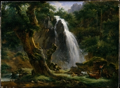 Waterfall at Mont-Dore