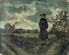 Woman in Landscape