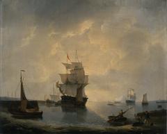 Zeilschepen in de haven