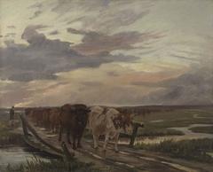 A Cow-drove