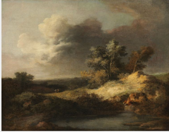 A Heath Scene: Sun after Storm