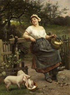 A Peasant Girl, Brittany