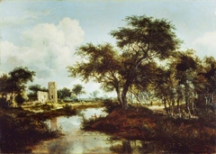 A Ruin on the Bank of a River