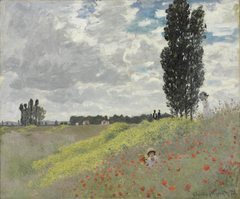 A Walk in the Meadows at Argenteuil