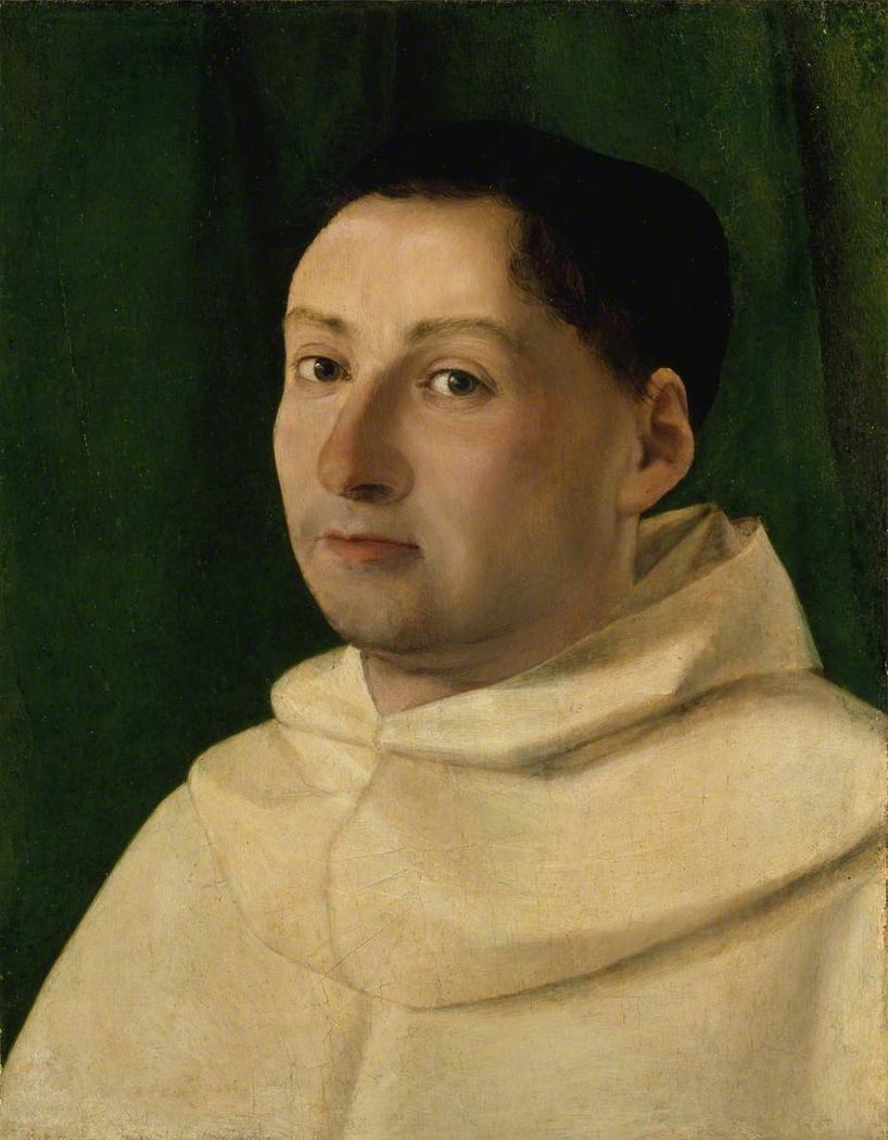 A Young Dominican Monk
